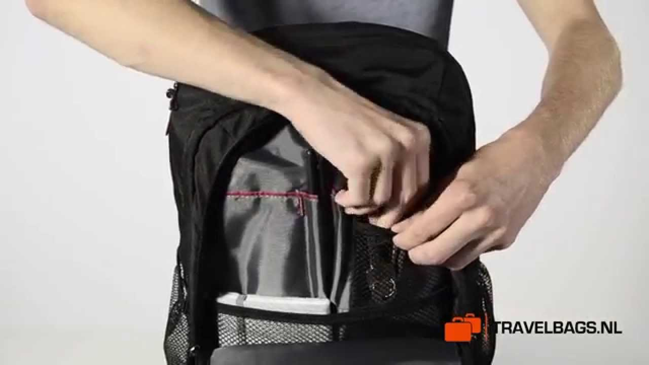 e2eaecbcd8964c Samsonite GuardIT Laptop Backpack M - YouTube