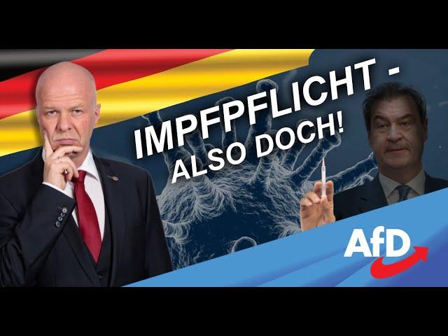 IMPFPFLICHT - ALSO DOCH! Dr. Robby Schlund kritisiert Regierungskampagne