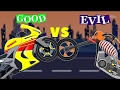 Superbike War   Good vs Evil   Scary Street Vehicles   Videos for Kids