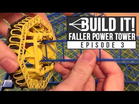 HTR Build It! Faller Power Tower | Episode 3 | Tower assembly