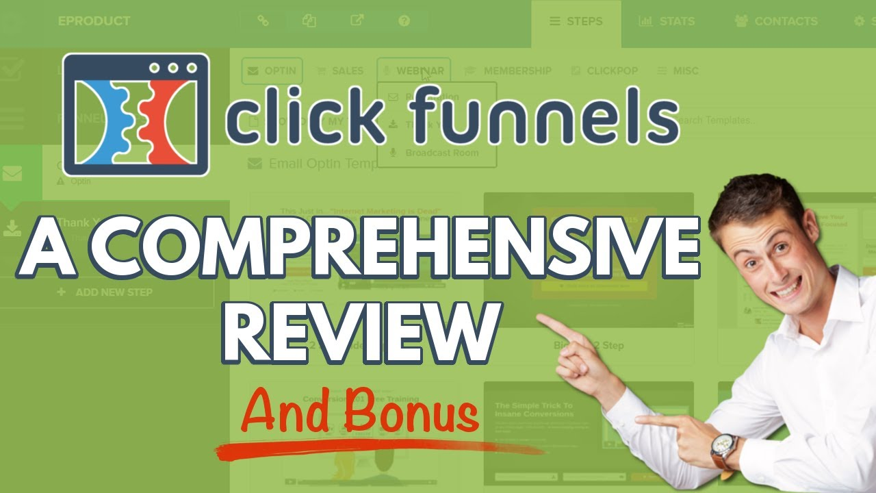 ClickFunnels Review 2018 for Beginners AND Bonus Offer Below