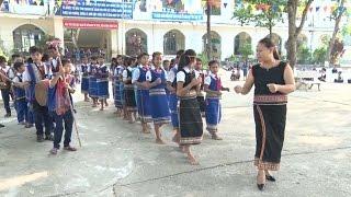 Kon Tum đưa cồng chiêng, múa xoang vào giảng dạy trong trường học