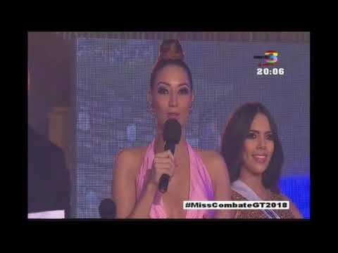 ¡Arrancamos Miss Combate Guatemala 2018!