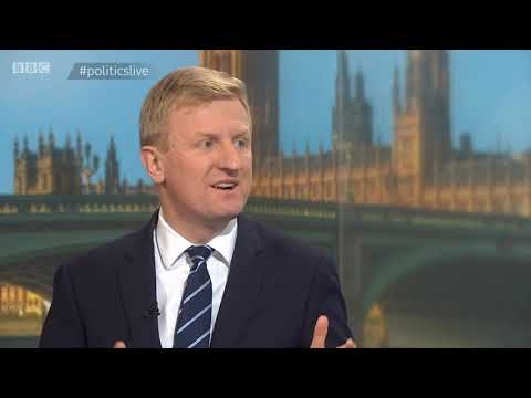 Tory Cabinet Office Minister Oliver Dowden Discusses Brexit On Politics Live