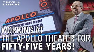 This Man Has Worked at The Apollo Theater for 55 YEARS | On The Job | Travel + Leisure