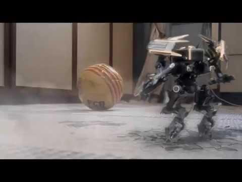 El Robot Madridista - Esercizio Chroma Key