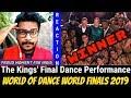 The Kings' Hip-Hop Crew of #INDIA #REACTION Video | Winner World of Dance World Finals 2019 | #Oyepk