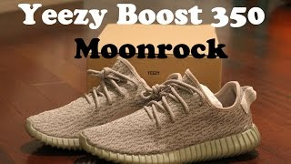 Sneaker Review: Adidas Yeezy Boost 350 Moonrock