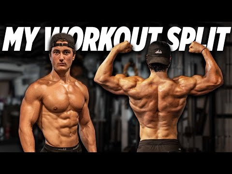 MY WEEKLY WORKOUT SPLIT (EXPLAINED) | BUILDING MUSCLE MADE EASY