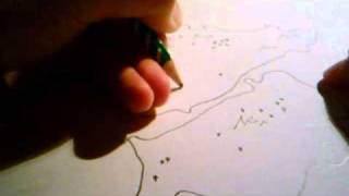How to draw a fantasy map Tutorial