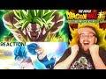 Dragon Ball Super: Broly Trailer 3 HD - (English Sub) REACTION!!!