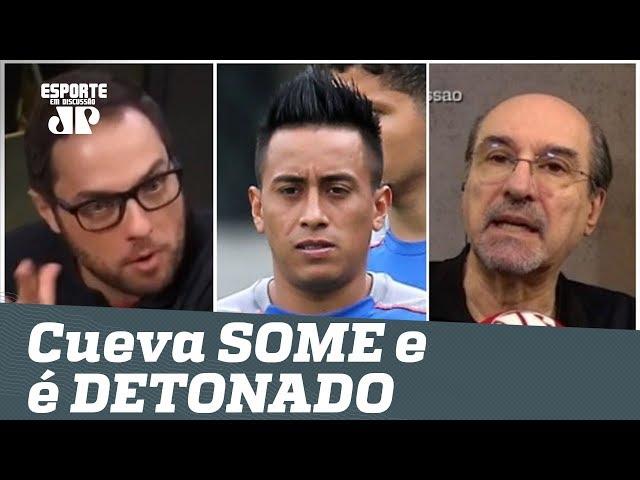 """Cueva """"SOME"""" e é DETONADO: """"com Sampaoli, vai DANÇAR!"""""""