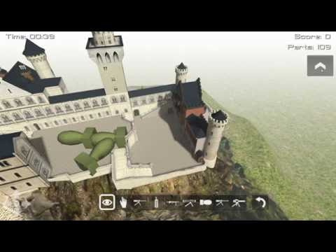 Demolition 3D: Castle Neuschwanstein