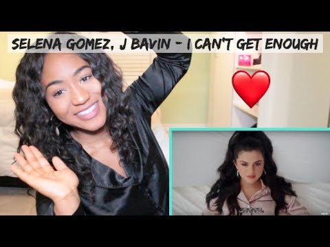 benny blanco, Tainy, Selena Gomez, J Balvin - I Can't Get Enough | REACTION
