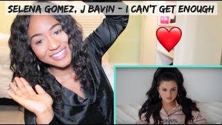 benny blanco, Tainy, Selena Gomez, J Balvin - I Can't Get Enough | REACTION