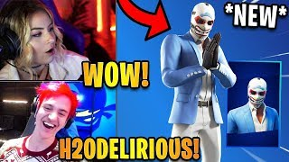 Streamers React to *NEW* Heist Skin! *RARE* | Fortnite Highlights & Funny Moments