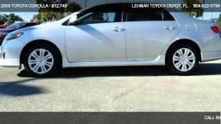 2009 TOYOTA COROLLA S - for sale in MIAMI, FL 33169