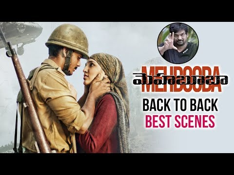 Puri Jagannadh Mehbooba Movie Back To Back Best Scenes | Charmme |  Akash Puri | Telugu FilmNagar