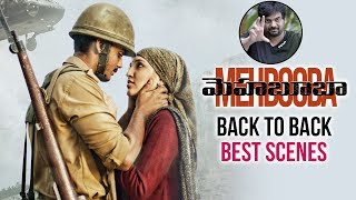 Puri Jagannadh Mehbooba Movie Back To Back Best Scenes   Charmme    Akash Puri   Telugu FilmNagar