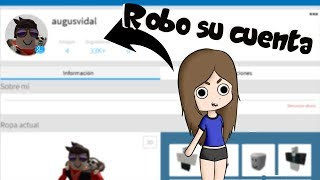 I TAKE MY NOVIO'S ACCOUNT E DESTRUCT ALL ROBLOX! Melina