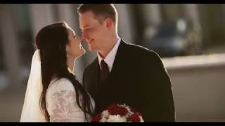 Utah Wedding Video / Hunter+Matt / Bountiful Temple 4K
