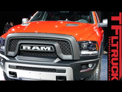 watch 2015 ram rebel pickup debut at the detroit auto show raptor fighter youtube. Black Bedroom Furniture Sets. Home Design Ideas