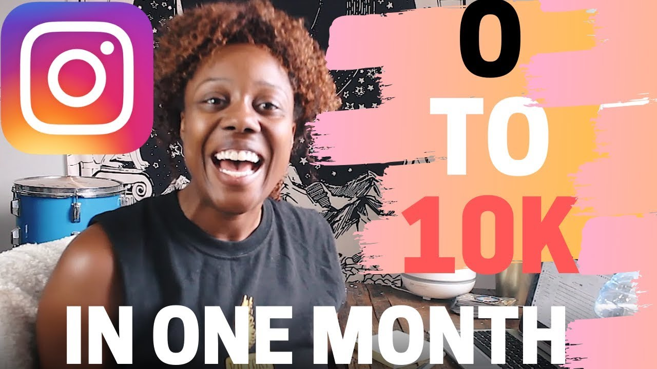 How to Grow Your Online Tribe from 0 to 10k on Instagram  in 2019 (DON'T MISS THIS VIDEO) image