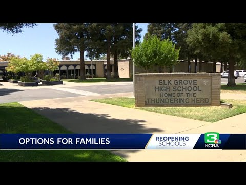 Elk Grove Unified releases its back to school options