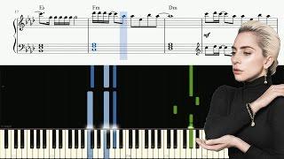 Lady Gaga - The Cure - Piano Tutorial + SHEETS