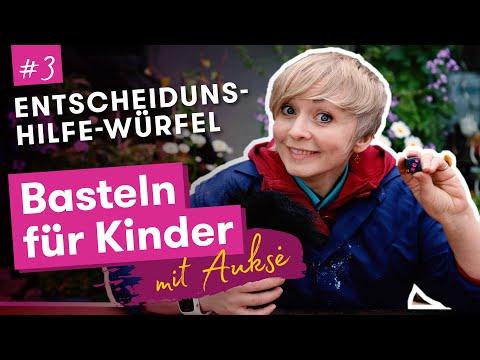 Aukse TV | Basteln für Kinder | Entscheidungshilfe-Würfel