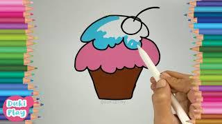 cupcake drawing | learn to draw cupcake | learn to draw