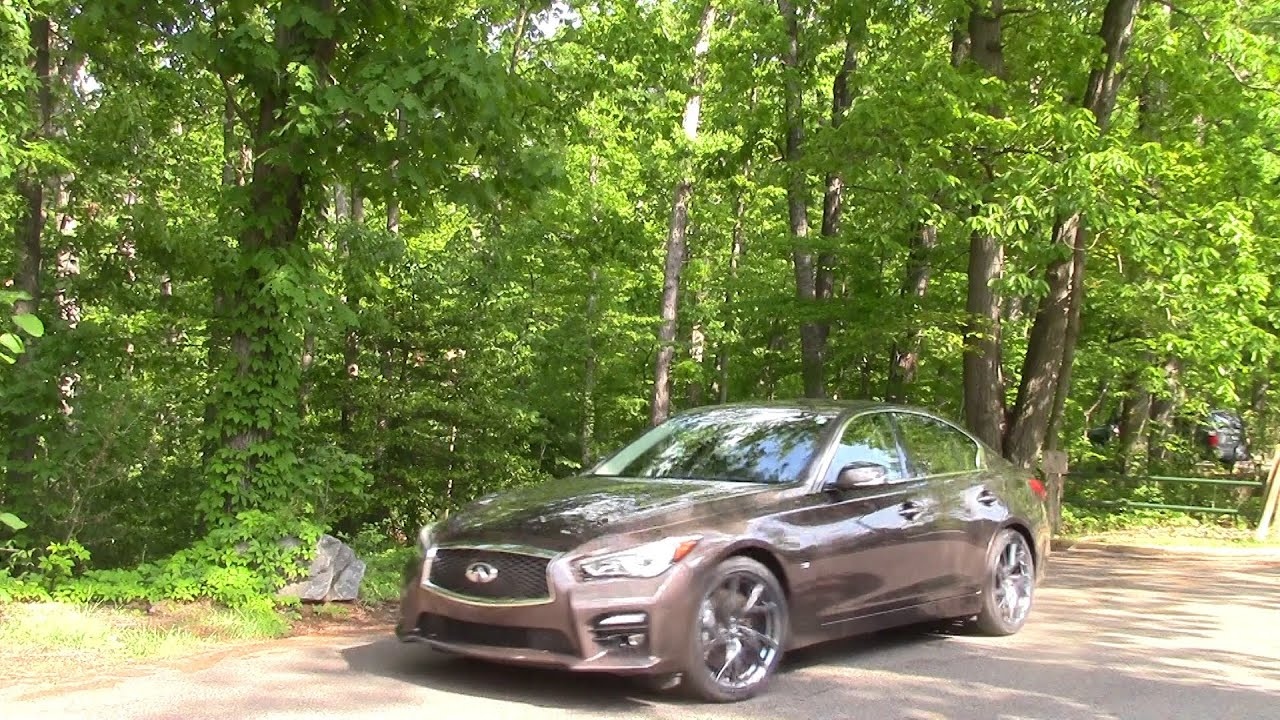 Infiniti Q50 Road Test  Review by Drivin Ivan  YouTube