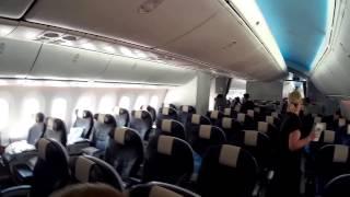 Onboard Thomson Boeing 787 Dreamliner - new Premium Class seats