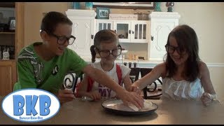 Bratayley Knows Homemade Ice Cream in a Baggie (Science Experiments for Kids) BKB #6