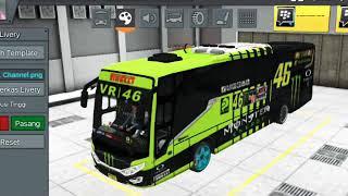 Kumpulan livery keren bussimulator indonesia