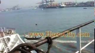 Deck & Anchor of MV-Sargodha (Pakistani Cargo Ship)