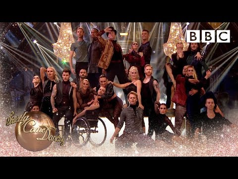 Strictly pros and Candoco Dance Company perform to 'Life on Mars'- BBC Strictly 2018