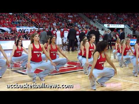 NC State Dance Team performs at the RBC Center