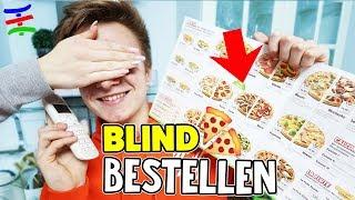 BLIND und ZUFÄLLIG beim LIEFERSERVICE ESSEN bestellen 🍕 TipTapTube 😁 Familienkanal 👨👩👦👦