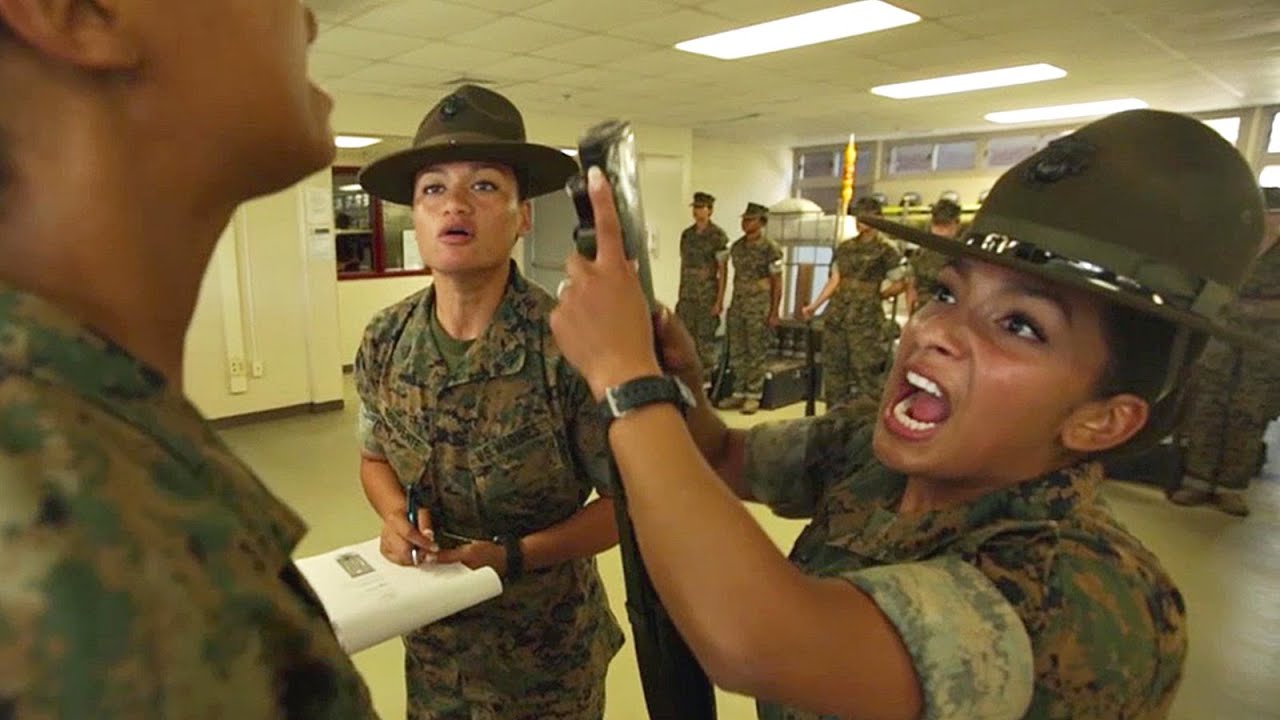A Journey Through Marine Corps Boot Camp Week 4 Youtube