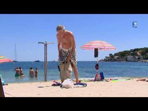 A la découverte de la plage de la Salis à Antibes