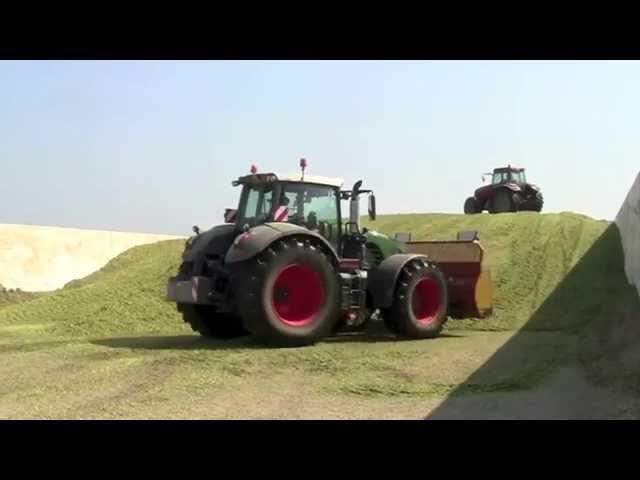 Tractors with BKT tires - Part 1