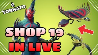 SHOP 19 JENNAIO IN LIVE - WE'ReNOT LO SHOP INSIEME - PROVINI ( FORTNITE )