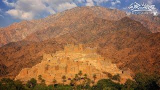 جولة على أعمال الترميم في قرية ذي عين الأثرية بالمخواة مع تصوير منبع العين 15-4-1438