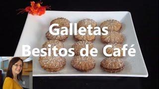 Galletas besitos de café - La Repostería de Graciela Coca