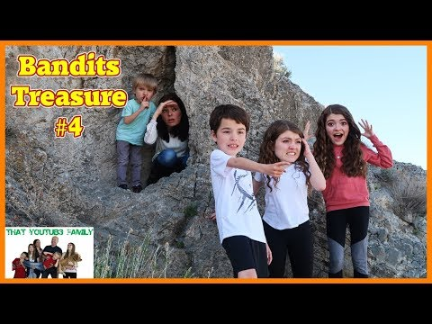Treasure Hunt Search For The Bandits Cash Part 4 💰/ That YouTub3 Family
