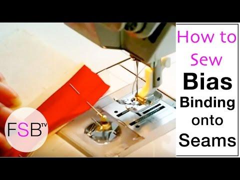 Sewing Bias Binding onto Seams thumbnail