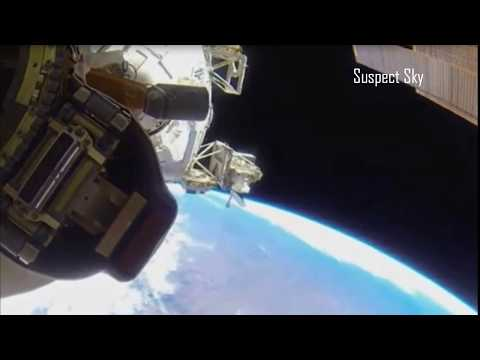 Astronaut Films UFO During Space Walk [SIGHTING]