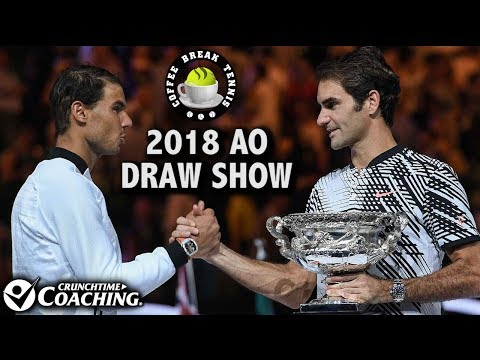 2018 Australian Open DRAW SHOW | Coffee Break Tennis