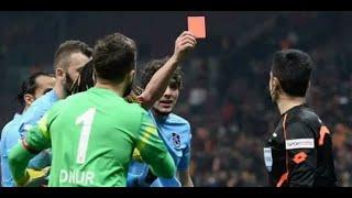 Удаление века: Футболист показал судье красную карточку.(В матче 22-го тура первенства Турции